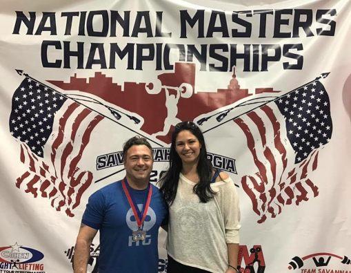 Donovan Condrad , Masters Athlete